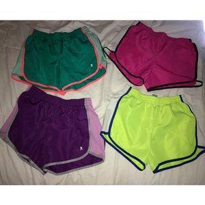 (4 PACK) Danskin Now Athletic Shorts